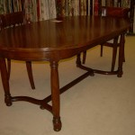 Race Track Dining Table